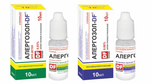 Allergozol-drops